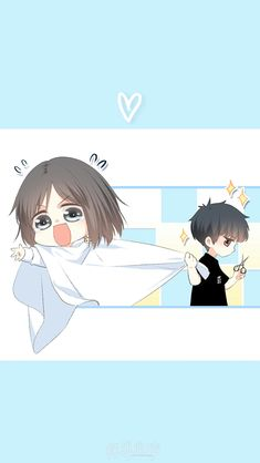 Love Never Fails Manga Cute Chibi Couple, Cute Couple Cartoon, Cute Couple Art, Anime Love Couple, Anime Couples Drawings, Anime Couples Manga, Cute Anime Couples, Kawaii Chibi, Anime Chibi