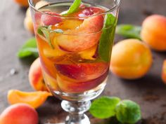 Peachy Ginger Tea for Adults