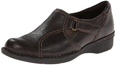 Clarks Womens Whistle Wheat FlatDark Brown6 M US >>> You can get additional details at the image link. Note:It is Affiliate Link to Amazon.