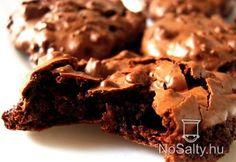 Csokis habcsók süti