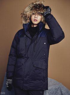 Park Seo Joon from Hwarang ✨ I love his acting a lot 💓 And his adorable face ❣️ Park Seo Joon, Seo Kang Joon, Instyle Magazine, Gq Magazine, Dream High Season 2, New Star, Film Awards, Korean Actors, Canada Goose Jackets