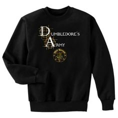 Amazon.com: Dumbledore's Army New Recruit Harry Potter Fan Art Crewneck Sweatshirt: Clothing