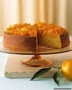 Orange-Almond Cake Recipe