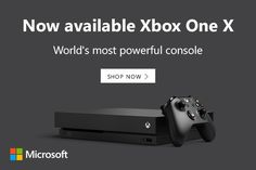 Microsoft US - James's iStore Xbox One Games, Xbox Live, Most Powerful, Games To Play, Microsoft, Console, Electronics