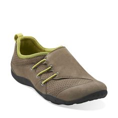 Haley Mcintosh in Grey Suede - Womens Shoes from Clarks ---Maybe for P-Day?