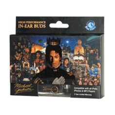 Michael Jackson Earbuds - Bring the King of Pop back by listening with these Michael Jackson Earbuds. They will ensure a good time and make you won't stop until you get enough.