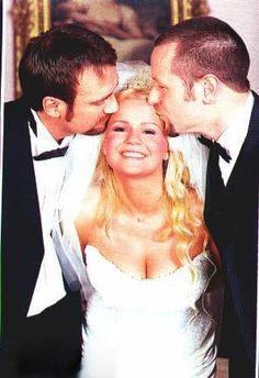 Kerry McFadden wedding day