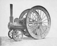 Unusual Traction Engines - Fowler 1877