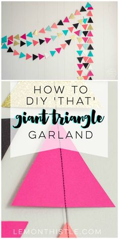 How to DIY a giant t