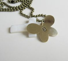 Personalized Initial pendant Necklace, memorial,  by romanticcrafts, $18.00