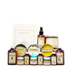 D.I.Y. Apothecary Kit by Beekman 1802 |  Make your own beauty treatments using natural ingredients.  Includes 20+ recipes