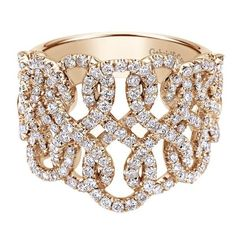 Trendy Diamond Rings : Ring