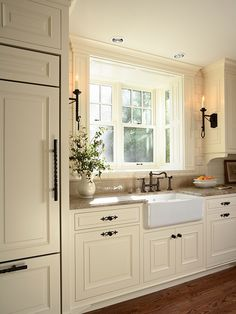 In Good Taste: Tudor Style Kitchen