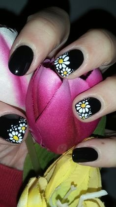10 Spring Nail Designs for Short Nails – Fancy Nails Orange Nail Designs, Simple Nail Art Designs, Short Nail Designs, Cute Nail Designs, Easy Nail Art, Awesome Designs, Nail Designs Summer Easy, Nail Art Ideas For Summer, Dark Nail Designs