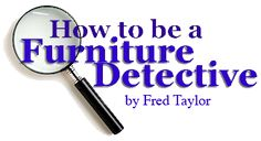 Furniture Terms Glossary For Antiques, Collectibles Older Furniture Identification