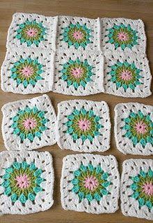 colour ideas for blanket, leuk voor op roosjes bed