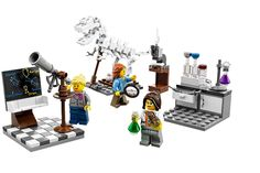 LEGO released a new kit with a female astronomer, chemist and paleontologist on Aug. 1, 2014.