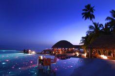 Huvafen Fushi Resort, Maldives  - 10 Most Spectacular Hotels in the World Maldives Hotels, Maldives Honeymoon, Honeymoon Destinations, Holiday Destinations, Maldives Wedding, Honeymoon Fund, Maldives Travel, Honeymoon Places, Maldives Resort