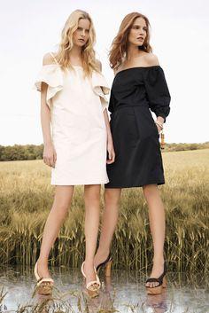 Chloé Resort 2013 Fashion Show - Elza Luijendijk and Suvi Koponen