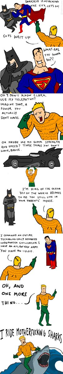 Aquaman Finally Sticks Up For Himself...