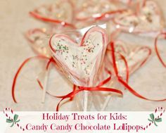 Candy Candy Chocolate Lollipops - cute!!