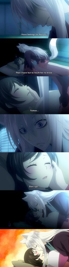 Nanami x tomoe season 2 - *----------------------------* I'm gonna cry from the happiness exploding out of me from this entire season!!! They better make a season 3!!!!