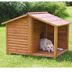 Costco Mexico - Trixie casa rústica grande de madera natural para perro