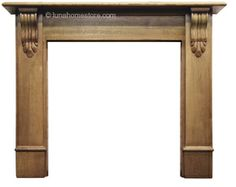 Edinburgh Corbel Fireplace Surround Pine      Solid Pine     Available in Waxed or Unwaxed finish     (waxed version shown)     Suitable for all our cast iron insets Online Sale Price: £250.00 r.r.p: £311 saving: £61