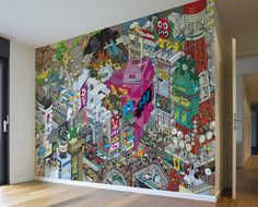 <3 eboy's collection - tokyo wall mural.  there is nyc, london, berlin... maybe jakarta next time?