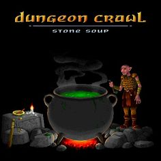 Dungeon Crawl Stone Soup Stone Soup, Games, Poster, Toys, Posters, Movie Posters, Game