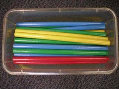 """stuff to go with toddler songs like bean bags, scarfs, flags, etc.Rhythm sticks chant- """"Come play the stick game. use your ears. Then repeat just what you hear. Listen,listen all of you. Listen first then do it too! Kindergarten Music, Preschool Music, Music Activities, Teaching Music, Movement Activities, Preschool Themes, Music Games, Music Songs, Toddler Activities"""