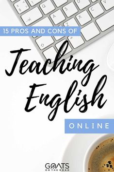 Ever wonder what it's like to teach English online? Here are the 15 pros and cons of teaching English online! The answer might surprise you! | #TeachingEnglishOnline #MakeMoney #digitalnomad Teaching Jobs Overseas, Teach English To Kids, Online English Teacher, Travel Jobs, Job Work, Learn A New Skill, Working With Children, Online Work, What Is Like