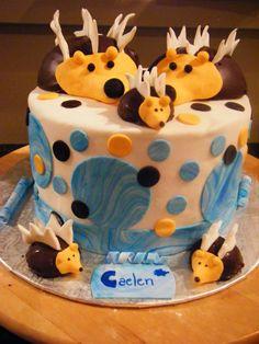 Gâteau Shower bébé garçon