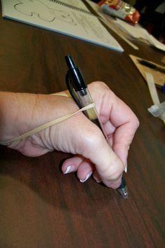 à tester pour la tenue du crayon!