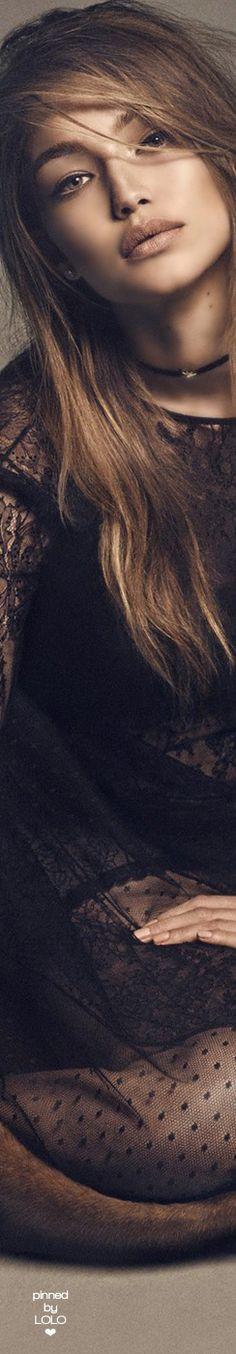 Gigi Hadid for Vogue Japan December 2016 | LOLO❤︎                                                                                                                                                                                 More
