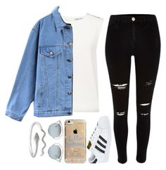 """""""Boy you make me make bad decisions ✈️❄️"""" by feel-like-infinity ❤ liked on Polyvore featuring Finders Keepers, Quintess, River Island, adidas, Agent 18 and Christian Dior"""