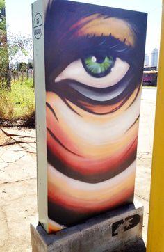 Olho D'água #Graffiti - by Decy - Street Art - Goiânia