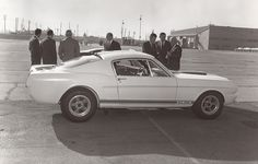 Mustang GT350R Model at LAX. From the George Watters Collection.