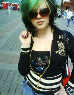 Emo Hair Color Pictures