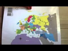 MM's CC classical conversations Geography Cycle 2 Week 2 and Week 12 COMBINED into one song - All European Seas