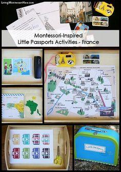 Montessori-Inspired Little Passports Activities – France