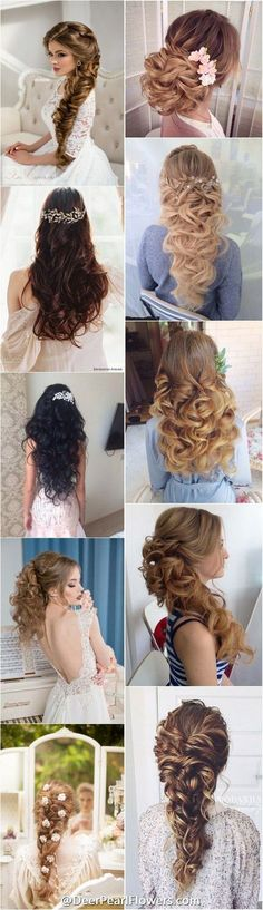 1000+ Wedding Hairstyles for Long Hair | http://www.deerpearlflowers.com/wedding-hairstyles/ #weddinghairstyles