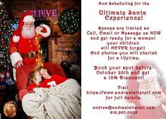 Ultimate Santa Experience! Andrea Latterell Photography