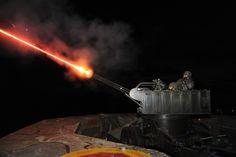 South Korean Marines firing 20mm Vulcan anti-aircraft gun [4256 x 2832]