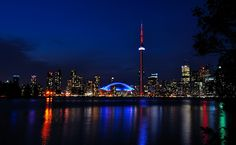 Toronto Lights Toronto Skyline, Sin City, City Girl, Neon Lighting, City Lights, Canada, Spaces