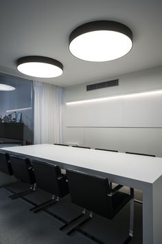 LEO BURNETT   OFFICE #DARK HOEK #Prolicht SIGN ('s) black & white #architecturallighting  #project at Brussel BE