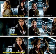 Wait, so you're just gonna run there and try and find her? #LegendsofTomorrow #Season1 #1x11