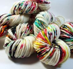 Big Rad Bulky Hand Dyed Yarn SW Merino/Nylon by SpunRightRound