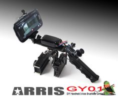 Arris GY01 DIY Handheld 3-Axis Brushless Gimbal for Gopro3 3+