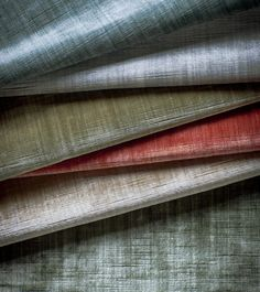 An unusual and beautiful plain silk velvet with subtle striations of colour giving great depth and movement in a wonderful range of colourways.